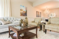 Folkstone - Townhome Transformation - transitional - Living Room - Vancouver - Beyond Beige Interior Design Inc.