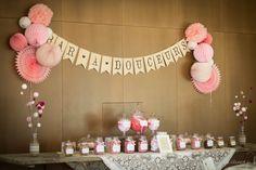 Mariage - Idée déco pour le buffet du dessert