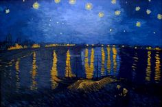 After Van Gogh - Starry Night over the Rhone