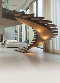 Few Breathtaking DIY Stairs Projects - In most of the houses stairs are just being used from taking you from one point to another. If your stairs do the same purpose only then you are missi. stairs Few Breathtaking DIY Stairs Projects - Diana Phoneix Stairs Architecture, Interior Architecture, Escalier Design, Exterior Stairs, Cafe Exterior, French Exterior, Stucco Exterior, Exterior Cladding, Cottage Exterior