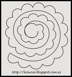 Felt Rose Pattern