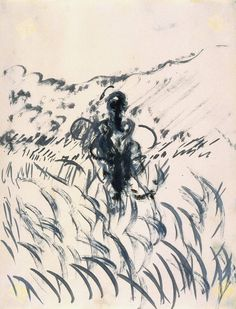 Francis Bacon Figure in a Landscape 1952