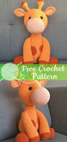 Mesmerizing Crochet an Amigurumi Rabbit Ideas. Lovely Crochet an Amigurumi Rabbit Ideas. Giraffe Crochet, Crochet Animal Amigurumi, Crochet Gratis, Crochet Amigurumi Free Patterns, Cute Crochet, Crochet Animals, Crochet Dolls, Crochet Baby, Amigurumi Doll