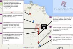 Checkpoints in #Fezzan destroyed by #IS so they can transport fighters from Africa to their camp in Jufra. #Libya