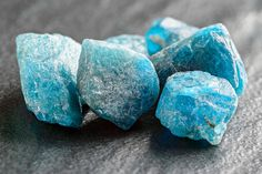 Blue Apatite crystal eliminates blockages, can assist in balance and stimulates…