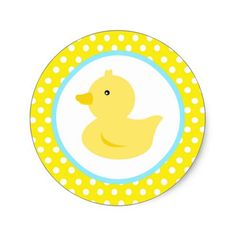 Shop Rubber Ducky Duck Favor Stickers created by Petit_Prints. Rubber Ducky Birthday, Rubber Ducky Baby Shower, Baby Shower Duck, Rainbow Birthday Party, 2nd Birthday Parties, Birthday Ideas, Cupcake Birthday, Baby Shower Supplies, Baby Shower Themes
