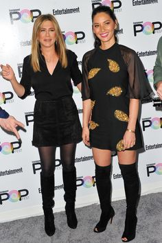 Best dressed this week: 31 October 2016 - Jennifer Aniston and Olivia Munn