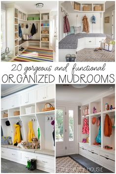20 Gorgeous, Functional, & Organized Mudrooms