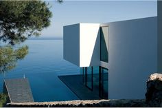 Atelier d'Architecture Bruno Erpicum & Partners (AABE) have designed the AIBS House located in Ibiza, Spain.