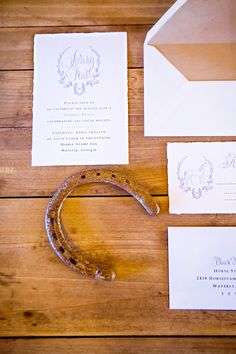 Invitations to a Rustic Local Dinner Party