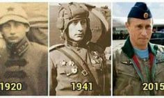 A photograph from almost 100 years ago has some on social media convinced that Russian leader Valdimir Putin is immortal and has figured out a way to time travel.