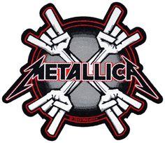 #Patch METALLICA - Metal Horns #metallica www.rockagogo.com