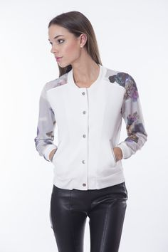 Coats, Floral, Jackets, Collection, Women, Fashion, Down Jackets, Moda, Wraps