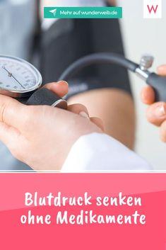 Es geht ohne Pillen! Mit natürlichen Maßnahmen kannst du deinen Blutdruck ohne Medikamente senken. #blutdruck #gesundheit #blutdrucksenken #bluthochdruck #ernährung