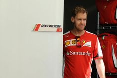 """Vettel:""""I've searched this entire room and can find any briefs!"""""""