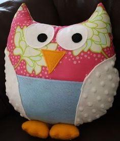Owl Baby toy owl-stuff