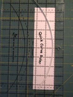 Sew Kind Of Wonderful - Quick Curve Ruler