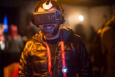 VR Immersion New Frontier Sundance 2015 #Samsung photo by anna newman