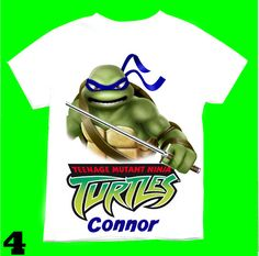 Franklin the Turtle Personalized Custom Birthday Shirt in 8 Different Colors