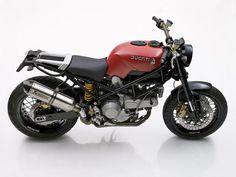 The Ducati Scrambler by German custom workshop JVB-Moto.