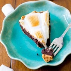 The ultimate thick graham cracker crust, filled with the best brownies you will ever eat, and topped with gooey marshmallow.