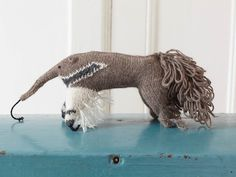 Knitted anteater
