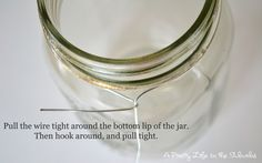 Light Up the Night: A Mason Jar Project - A Pretty Life In The Suburbs