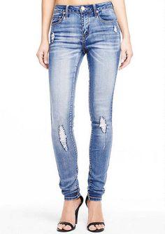 Siena Super Stretch High Waist Skinny Jean - High Waist - Jeans - Alloy Apparel