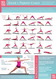 Wykonuj je 3 razy w tygodniu aby wzmocnić swoje ciało oraz siłę woli Yoga Fitness, Fitness Tips, Health Fitness, Kundalini Yoga Poses, Yoga For Weight Loss, Yoga For Kids, Yoga Sequences, Vinyasa Yoga, Asana