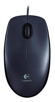 #7: Logitech M90 USB Mouse (Dark Grey)
