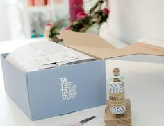 Kundendesign #TaTeeTaTa - #PackedWithLove #GetYourBoxPrinted