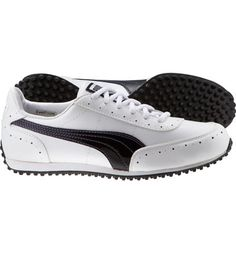 0cdc32a4630df Puma Womens Golf Cat 2 Golf Shoes (Black White) Sports Party