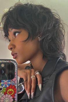"""꧁ETP꧂ on Twitter: """"hothead 👹… """" Cut My Hair, New Hair, Hair Cuts, Thin Hair, Hairstyles With Bangs, Pretty Hairstyles, Shag Hairstyles, Black Girls Hairstyles, Hair Inspo"""