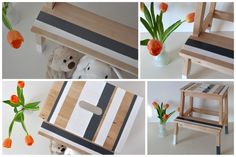 IKEA Bekvam fellépő újrafestés / Masni - IKEA Bekvam step stool pimp DIY Bekvam Stool, Ikea Bekvam, Ikea Hack, Diy, Crafts, Craft Ideas, Home Decor, Manualidades, Decoration Home
