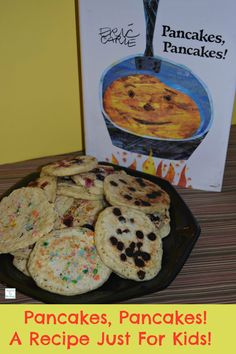 Pancakes, Pancakes! A Recipe Just For Kids! Pancakes kids will love! http://mamato5blessings.com/2015/01/pancakes-pancakes-recipe-just-kids-learn-link-linky/