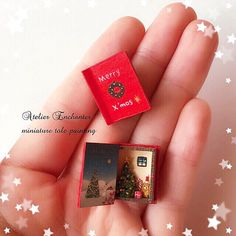 2017.11 Miniature Christmas Books ♡ ♡ By Atelier Enchanter