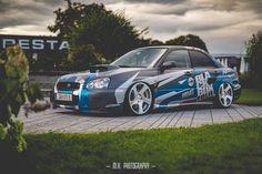 Subaru Impreza STI livery design by ttstudio.ru