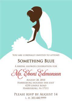 Signatures by Sarah: Bridal Shower Invitation for Eboni