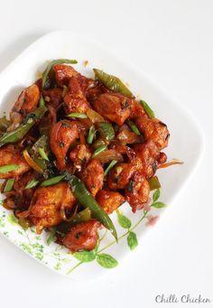 chinese dry chilli chicken recipe