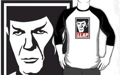 Spock - Live Long and Prosper based on the Andre the Giant OBEY theme...