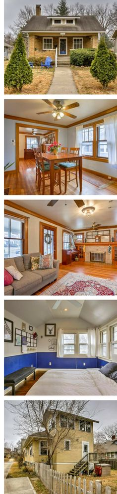 Charming Waldo Bungalow right off of Ward Parkway! 1105 W. Bungalow, Home Goods, Urban, Mansions, Cool Stuff, House Styles, Modern, Home Decor, Mansion Houses