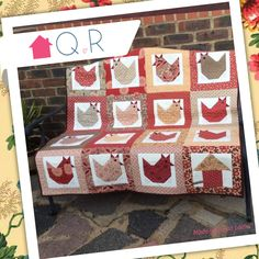 Zaina made this lovely Hen Quilt using our Hen Party Quilt Kit