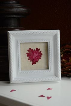 Hometalk :: Valentine's Day Paint Chip Art