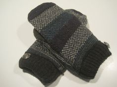 Lapeer Wool Mittens  med/lg  MMC484 by MichMittensbyLauri on Etsy, $23.00