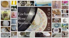 Broken China Mosaic How To--By Enchanted Rose Studio  This is awesome.  Definitely want to try.