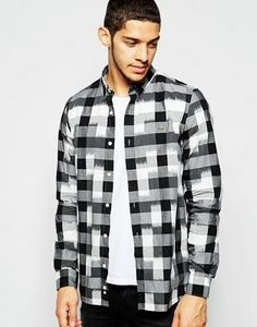 Find the best selection of Lacoste Live Shirt with Buffalo Plaid. Shop today with free delivery and returns (Ts&Cs apply) with ASOS! Buffalo Plaid, Shirt Dress, T Shirt, Lacoste, Shirt Style, Designer Dresses, Casual Shirts, Flannel, Going Out