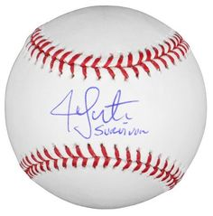 Jon Lester Autographed Baseball w/ Survivor - MLB Holo - Autographed Baseballs by Sports Memorabilia. $111.78. Jon Lester Autographed Baseball w/ Survivor - MLB Holo. This is a good investment for any memorabilia collectoin since items like this tend to increase in value. This item has been verified by Sportsmemorabilia s numbered hologram certification. We would never sell an item we wouldn't be proud to display in our own office, and all of our items have been eva...