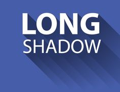 2 ways to create a long shadow effect in 5 steps or less (Illustrator) from Vectips
