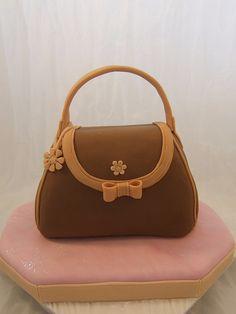 Handbag cake - love the charm