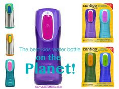 """The Best Kids Water Bottles on the Planet"" - via @Andrea Fellman #BacktoSchool #Kids"